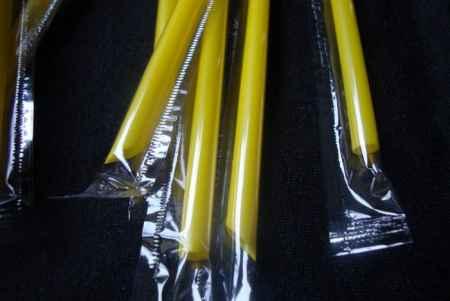 山东独立包装奶茶塑料吸管批发
